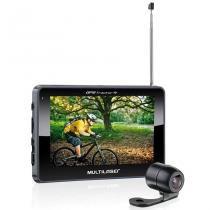 Navegador GPS Multilaser Tracker III GP035 TV Digital Câmera de Ré Tela Touch Screen de 4.3 - Multilaser