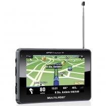"Navegador GPS Multilaser Tracker III Tela 4.3"" TV Digital - GP034 -"