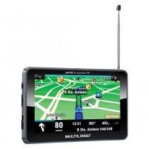 Navegador GPS Multilaser Tracker III Tela 7pol TV Digital Transmissor FM - GP038 -