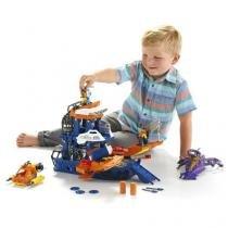 Navio Comando do Mar Imaginext DFX93 Mattel - Fisher-price