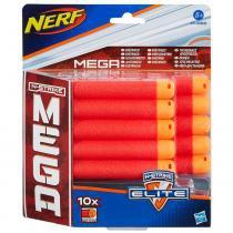 Nerf mega Refil com 10 Dardos - Hasbro - Nerf