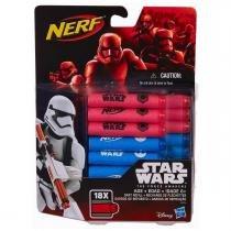 Nerf star wars episódio vii refil de dardos - b3174 - hasbro -