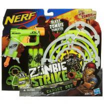 Nerf Zombie Strike Lançador Com Alvos - Hasbro -