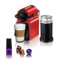 Nespresso Combo Inissia Ruby + Espumador de Leite Aeroccino -