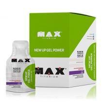 New Up Gel Power 10 Sachês - Max Titanium - Uva - Max Titanium
