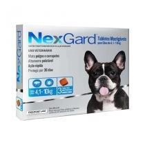 Nexgard M Cães 4,1 a 10kg 3 Tabletes Antipulgas e Carrapatos Merial - Descrição marketplace - Merial boehringer