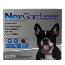 Nexgard M Cães 4,1 a 10kg Antipulgas e Carrapatos Merial - Descrição marketplace -