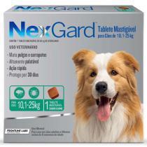 Nexgard tabléte mastigável para cães de 10-25kg - Merial
