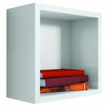 Nicho Quadrado Decorativo 31x31x15 Branco - Lymdecor - Lymdecor