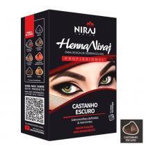 Niraj henna para sobrancelha 3,5g -