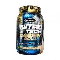 NITRO TECH CASEIN GOLD 1,13kg - BAUNILHA CREAMOSA - Muscletech