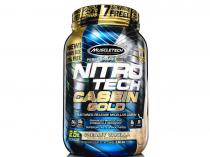 Nitro tech Caseina Gold Muscletech 1,13kg Vanilla Cream -