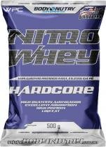 Nitro Whey Hardcore - Refil 500G - Body Nutry - Baunilha -