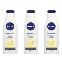 Nivea Body Firmador Q10 Plus Loção Hidratante 200ml (Kit C/03) -