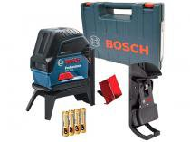 Nível a Laser Automático Bosch Profissional - GCL 2-15 com Base Magnética Alcance 15m