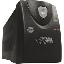 Nobreak UPS Office Security Plus 1500VA 2 Baterias Bivolt - Force Line - Preto - Brother