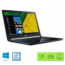"Notebook 15,6"" I7/ 8GB/ 2GB DED/ 1TB/ Windows 10 Acer -"