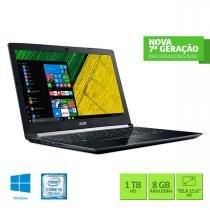 "Notebook 15,6"" Intel Core 5 8GB 1TB Windows10 Acer - Acer"