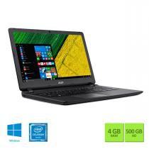 """Notebook 15.6"""" Acer ES1-533-C27U QCore 4GB/500GB/Win10 - Acer"""