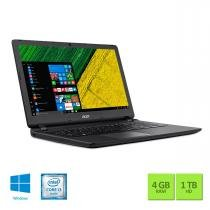 "Notebook 15.6"" Acer ES1-572-3562 I3 4GB/1TB/Win10 -"