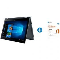 Notebook 2 em 1 Acer Spin 5 SP515-51N-50BY - Intel Core i5 8GB + Microsoft Office 365 Personal