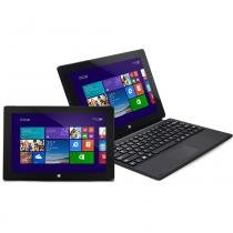 "Notebook 2 em 1 Atom Quad Core 1GB 16GB SSD Tela 10"" Windows 10 Zmax Daten - DATEN"