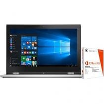 Notebook 2 em 1 Dell Inspiron 13 I13-7348-C20 Intel Core i5 4GB 500GB + Pacote Office 365