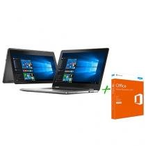 Notebook 2 em 1 Dell Inspiron 15 I15-7568-A20 - Intel Core i7 8GB 1TB + Office Home & Business