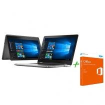 Notebook 2 em 1 Dell Inspiron 15 I15-7568-A20 - Intel Core i7 + Office Home and Student 2016