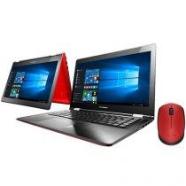 "Notebook 2 em 1 Lenovo Yoga 500 Intel Core i3 4GB - 500GB LCD 14"" + Mouse Sem Fio Laser 1000dpi"