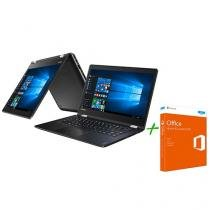 Notebook 2 em 1 Lenovo Yoga 510 Intel Core i7 - 8GB 1TB + Office Home and Student 2016