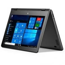 "Notebook 2 em 1 Multilaser M11W Tela 11.6"", Intel Atom Quad, 2GB RAM, Windows 10, Cinza - NB258 - Multilaser"