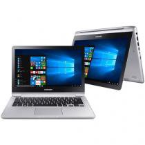 "Notebook 2 em 1 Samsung Style Intel Core i3 - 7ª Geração 4GB 500GB LED 13.3"" Touch Screen"