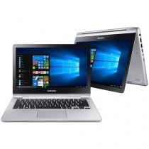 "Notebook 2 em 1 Samsung Style Intel Core i5 - 7ª Geração 4GB 500GB LED 13.3"" Touch Screen"