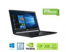 """Notebook ACER A515-51G-C97B I5-8250U 8GB 1TB Gforce  MX130 2GB Dedi 15,6"""" W10 Home - NX.GZ3AL.001 -"""