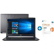 "Notebook Acer Aspire 5 A515-51G-72DB Intel Core i7 - 8GB 1TB LED 15,6"" + Microsoft Office 365 Personal"