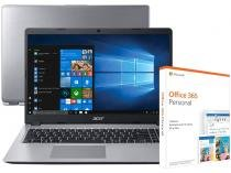 Notebook Acer Aspire 5 A515-52-536H Intel Core i5 - 8GB + Pacote Microsoft Office 365 Personal