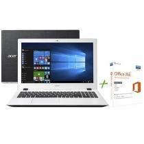 """Notebook Acer Aspire E5 Intel Core i5 6ª Geração - 8GB 1TB LED 15,6"""" + Office 365 Personal"""