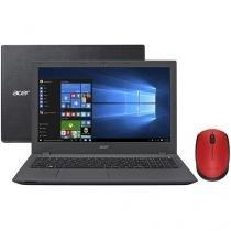 """Notebook Acer Aspire E5 Intel Core i7 6ª Geração - 8GB 1TB LCD 15,6"""" + Mouse Sem Fio Laser 1000dpi"""