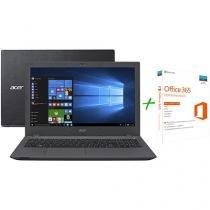 """Notebook Acer Aspire E5 Intel Core i7 6ª Geração - 8GB 1TB LCD 15,6"""" + Office 365 Home 5 Licenças"""