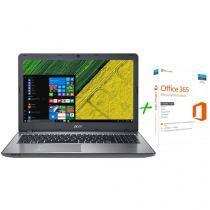 "Notebook Acer Aspire F5 Intel Core i7 16GB 2TB - LED 15,6"" GeForce 4GB + Microsoft Office 365"