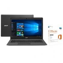 Notebook Acer Aspire One Cloudbook Intel Dual Core - 2GB 32GB LED 14 Windows 10 com Office 365 Persona
