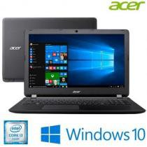 Notebook Acer com Processador Intel Core i3-6006U 15.6 4GB de memória 500GB de HD HDMI Windows 10 e -