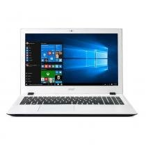 Notebook Acer E5-574-50LD 15,6 Pol Interior Branco Intel Core 6 i5 4GB 1TB Windows 10 - Acer