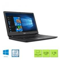 "Notebook Acer ES1-572-33SJ Intel Core i3 4GB RAM 1TB HD 15.6"" Windows 10 - Acer"