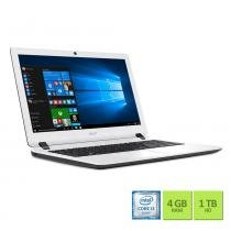 Notebook Acer Es1-572-37ep Interior Branco Intel Core i3-6100u 4GB 1TB Windows 10 - Acer