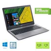 "Notebook Acer Intel Core i7 7ª Geracao 8GB RAM 1TB HD NVIDIA GeForce 940MX 4 GB 15.6"" Windows 10 -"