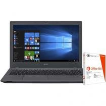 "Notebook Acer Intel Core i7 8GB 1TB LED 15,6"" - Placa Nvidia 4GB Windows 10 + Pacote Office 365"