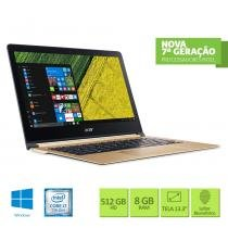 "Notebook Acer Swift 7 SF713-51-M0BQ Intel Core i7 8GB 512 SSD 13.3"" Windows 10 -"