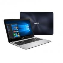 """Notebook Asus Core I5-7200U 8GB 1TB 15.6"""" Placa de Vídeo Dedicada 2GB GTX 930MX X556UR-XX478T Azul -"""